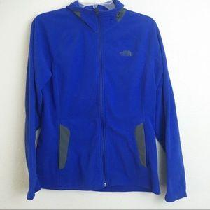 The Northface Blue Zip Up Jacket